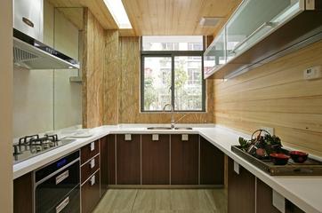 温馨新中式风格三居欣赏厨房