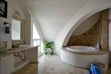 浪漫地中海住宅欣赏卫生间吊顶