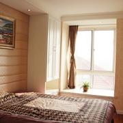 卧室飘窗设计效果图 简欧三居室