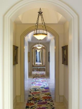 豪华法式风格装饰套图客厅走道