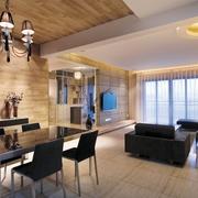 现代简约风格客厅吊顶