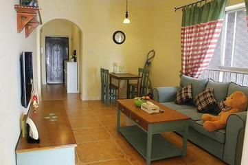 64平米两房一厅旧房改造 家居装饰都是网购的