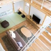 日式MIUI清爽住宅欣赏客厅全景