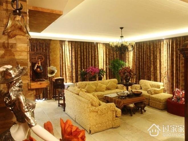 新中式精致一居室欣赏