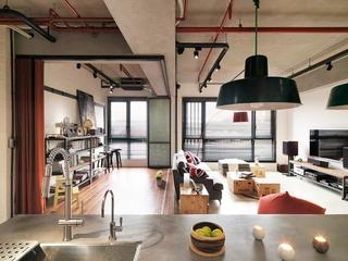 115平现代个性公寓欣赏厨房