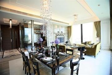 新古典三居室案例设计欣赏餐厅餐桌