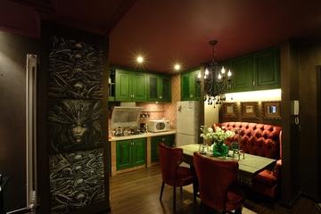东南亚住宅风格餐厅设计