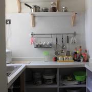 62平简约小两居案例欣赏厨房橱柜