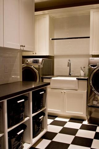 现代简约家居套图洗衣房图片