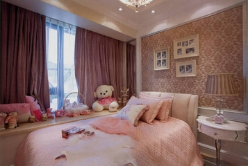 77平舒适简欧住宅欣赏儿童房