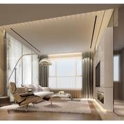 114平简约三居室设计欣赏