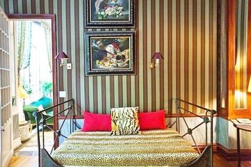顶层混搭奢华公寓欣赏卧室