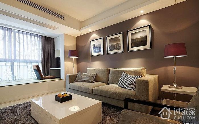 客厅飘窗装修效果图 让生活简单又自然