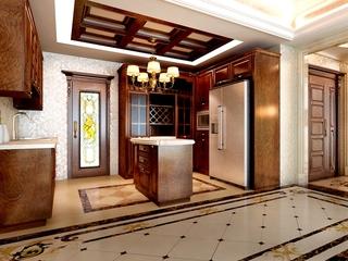 欧式奢华大宅大设计欣赏厨房