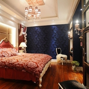 现代精品复式楼欣赏卧室