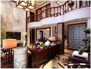 168平中式别墅欣赏
