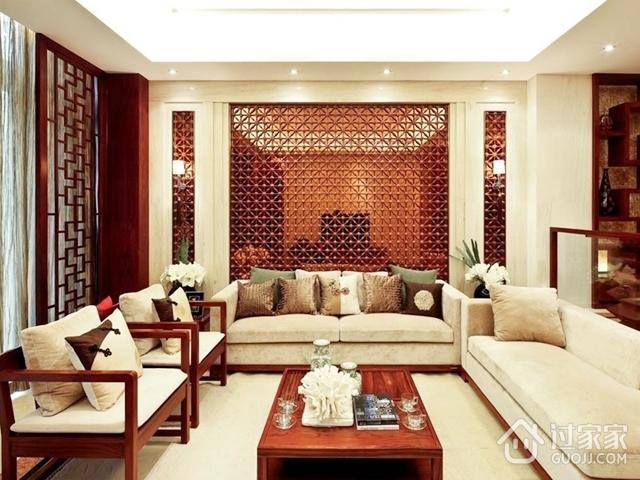 典雅大气中式一居室欣赏