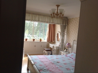 62平田园两居住宅欣赏卧室梳妆台设计