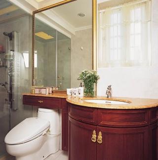 低调气质新古典住宅欣赏卫生间