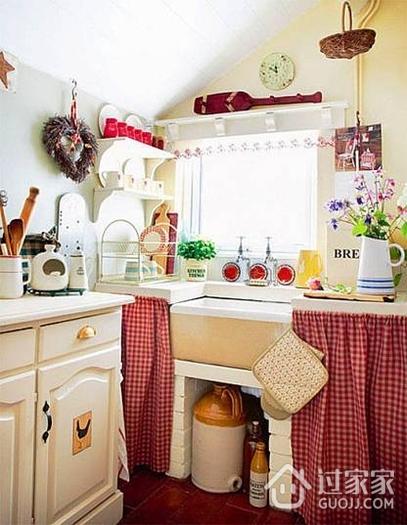 田园清新的小厨房设计