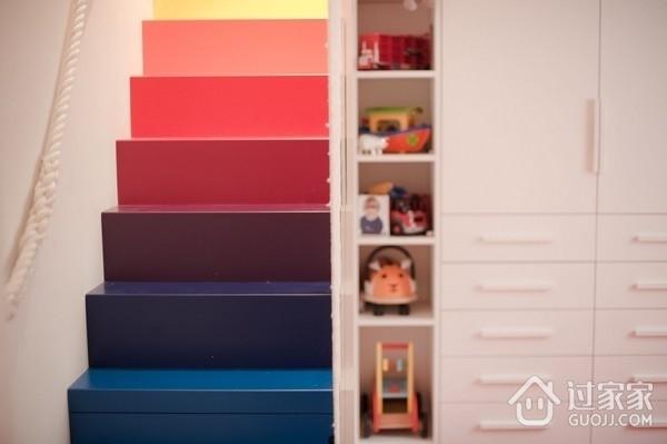 阳光清新小复式欣赏楼梯