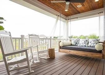 角落空间巧利用_打造阳台休息区