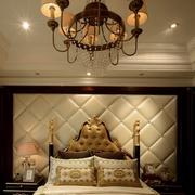 美式风格卧室灯饰效果图 高贵奢华