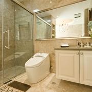 简约风卫生间浴室柜效果图