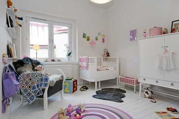 宜家风格复式装饰效果图儿童房
