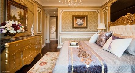 迷情欧式风住宅欣赏卧室吊顶