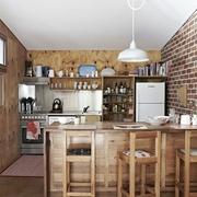 最质朴的美式乡村欣赏厨房