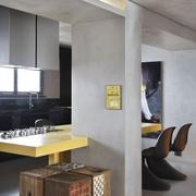 时尚简约风公寓开放厨房