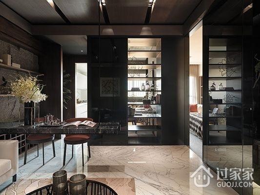 76平现代风两居室欣赏餐厅餐桌