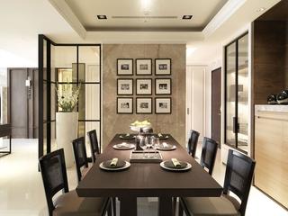 简约家装两居室设计欣赏餐厅