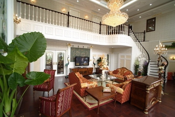 116平美式复式住宅欣赏
