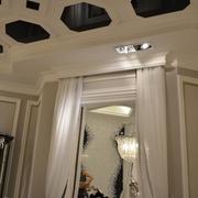法式风三居住宅欣赏卧室吊顶