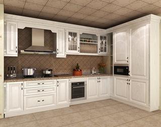 奢华欧式住宅欣赏厨房橱柜