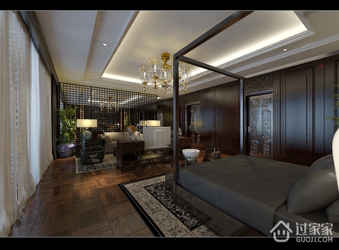 欧式风格装修效果设计套图卧室