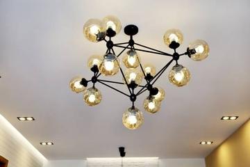 125平二手房装修案例 10万打造浪漫北欧风(客餐厅篇)