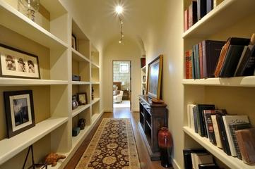 法式风格效果套图书房