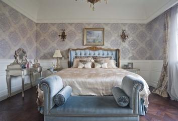 打造奢华欧式别墅欣赏卧室效果