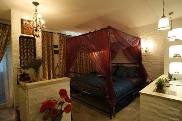 地中海风家居设计卧室床