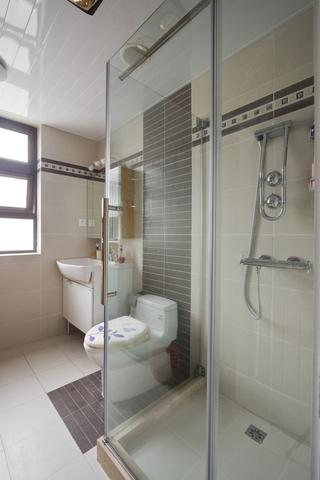 98平东南亚温馨住宅欣赏卫生间