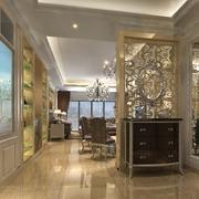潮流的客厅隔断设计 精致又美丽