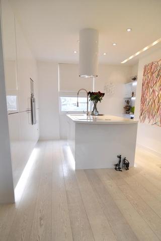 诺丁山简欧复式住宅厨房