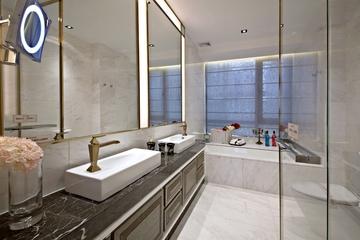 新古典样板房三居室欣赏卫生间吊顶