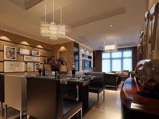 沉稳雅致中式住宅欣赏餐厅设计