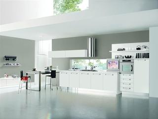 现代风格开放式厨房设计