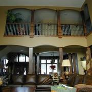 简约别墅装饰套图设计客厅吊顶