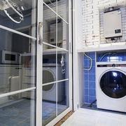 112平蓝色地中海住宅欣赏室内门